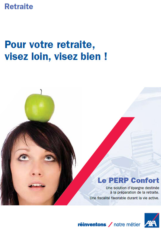 PERP CONFORT Retraite AXA Assurance