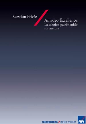 Contrat de Capitalisation AMADEO AXA Assurance
